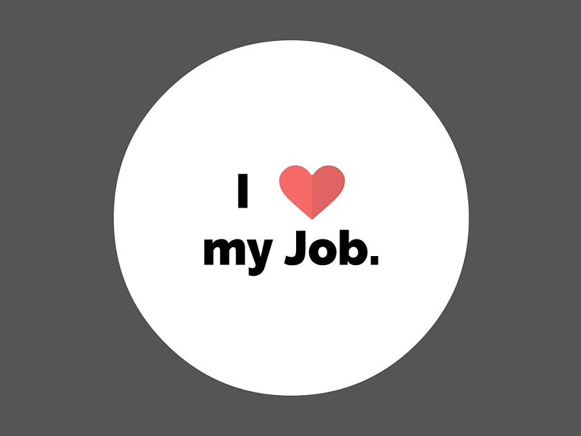 love with your job