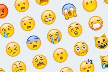 emojis in a resume