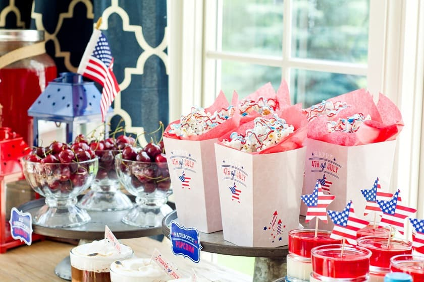 july 4th office party
