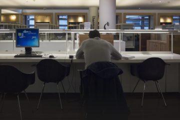 Open-plan Office Layout 12