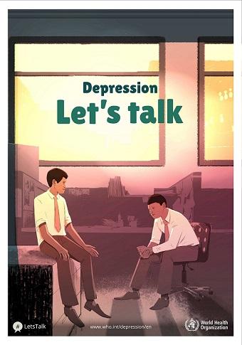 Depression Lets Talk World Health Day