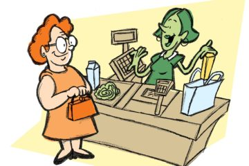 Cashiers in Present Economy