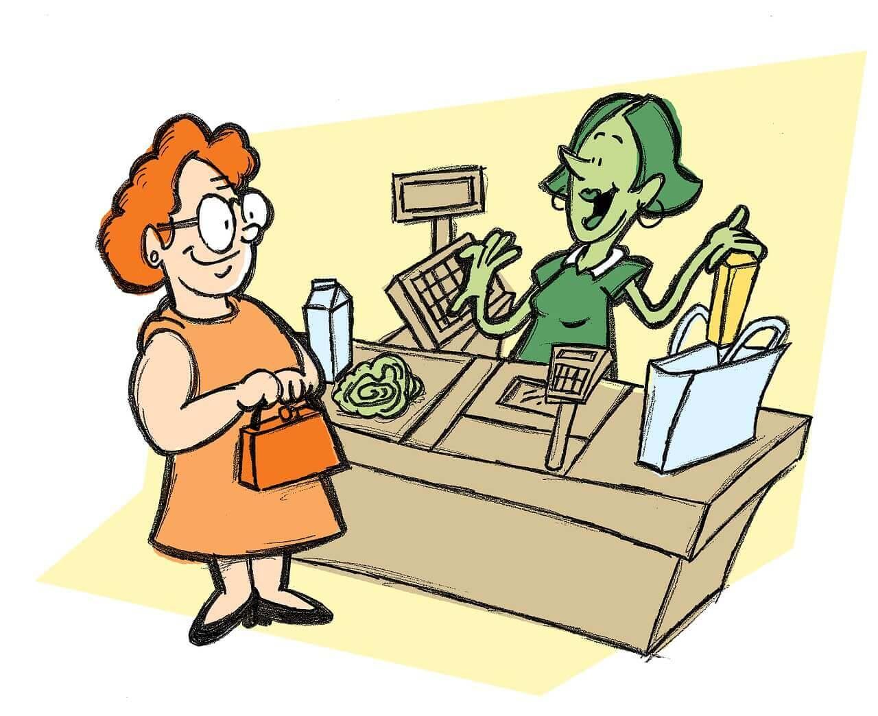Cashiers in Present Economy