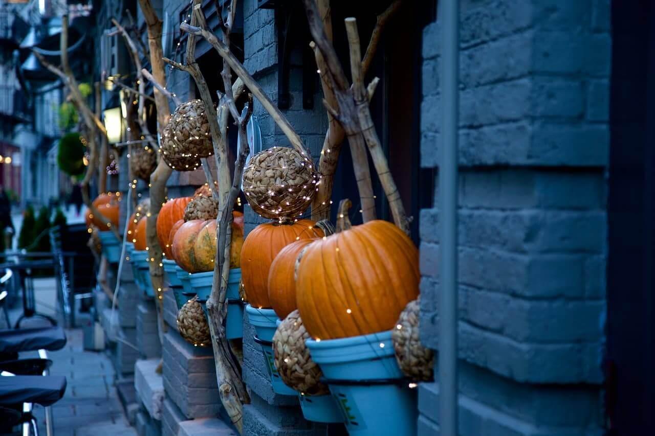 Halloween Decoration office celebration