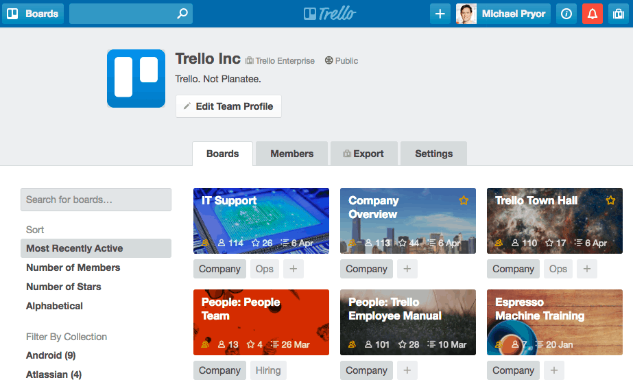 Trello related apps