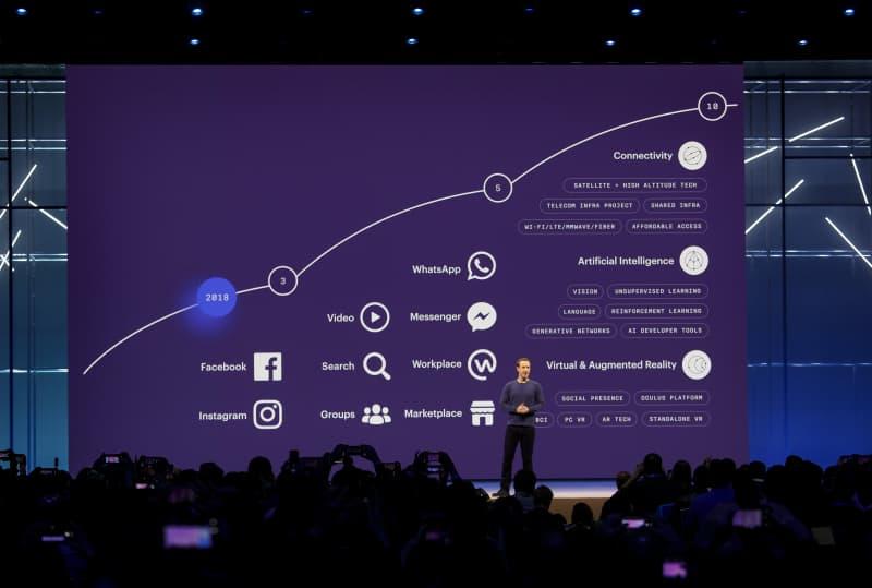Facebook CEO Mark Zuckerberg David Marcus