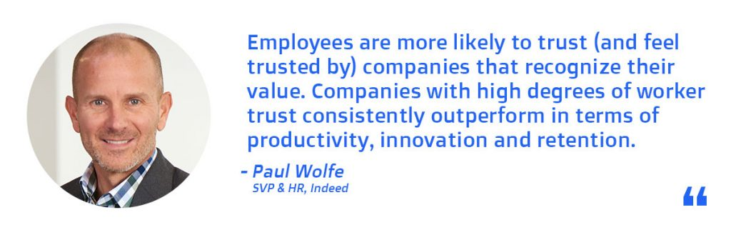 Paul Wolfe - SVP and HR at Indeed