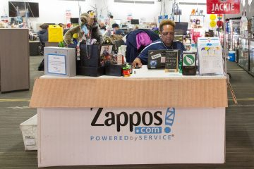 Zappos Core Values Self Management System