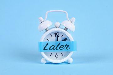 why people procrastinate