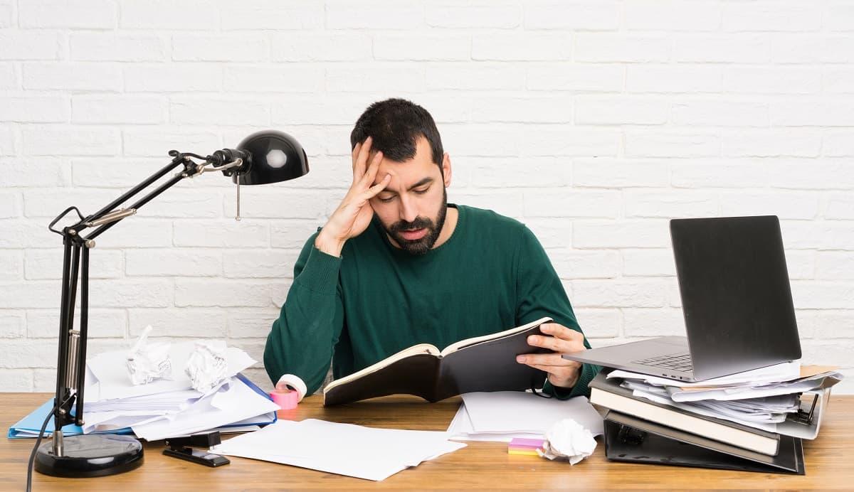 Signs of job burnout at work