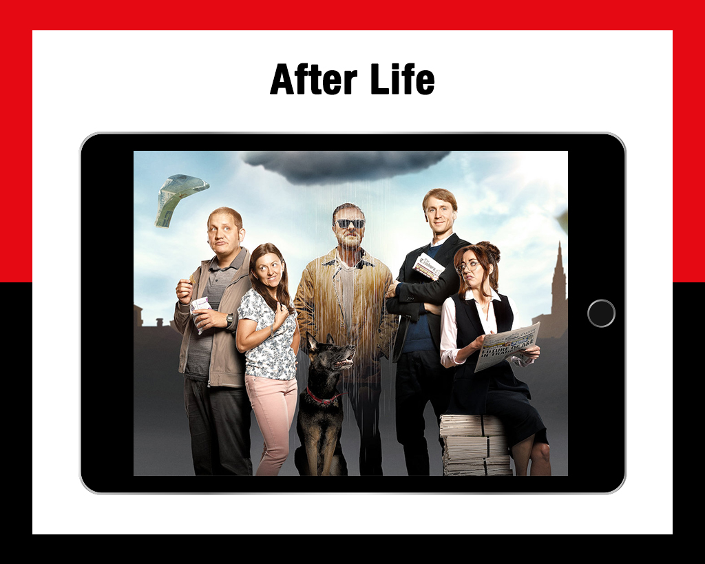 After life workplace comedies
