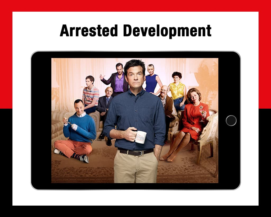 Arrested Development comedies on Netflix