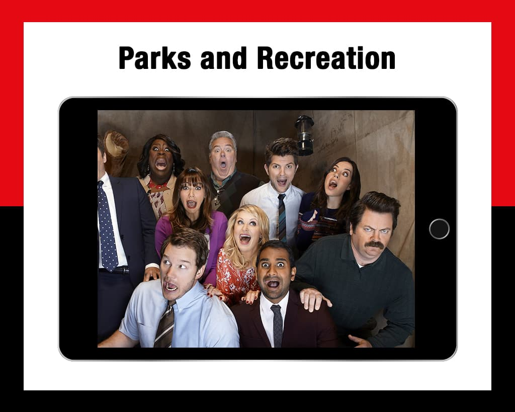Parks and recreation workplace comedies